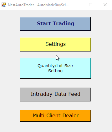 Auto Trading Software - AmiBroker or Excel to NEST Auto